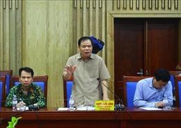 Đoàn Ban Chỉ đạo Trung ương về phòng, chống thiên tai kiểm tra công tác ứng phó với bão số 4 tại Nghệ An