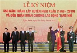 Lễ kỷ niệm 550 năm thành lập huyện Nghi Xuân (Hà Tĩnh)