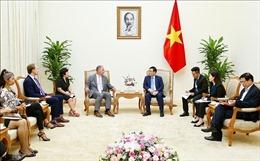 Phó Thủ tướng Vương Đình Huệ hoan nghênh Gen X Energy hợp tác về năng lượng tại Việt Nam