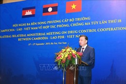 Việt Nam - Campuchia - Lào không khoan nhượng với ma túy