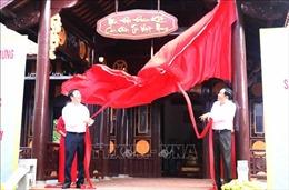 Hoàn thành nâng cấp Nhà Đại đoàn kết các dân tộc Việt Nam tại Đền Hùng