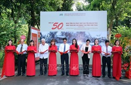 50 năm bảo tồn và phát huy giá trị Khu Di tích Chủ tịch Hồ Chí Minh tại Phủ Chủ tịch