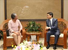 Phó Thủ tướng Vũ Đức Đam tiếp Bộ trưởng Lao động và An sinh xã hội Cuba