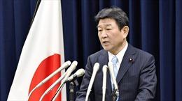 Điện mừng Bộ trưởng Ngoại giao Nhật Bản 
