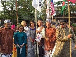 Việt Nam tham dự liên hoan và triển lãm nghệ thuật quốc tế ở Indonesia