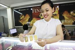 Giá vàng trong nước giảm đến 400.000 đồng/lượng