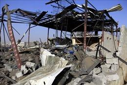 Liên quân Arab không kích trúng nhà dân ở Yemen, 7 trẻ em thiệt mạng