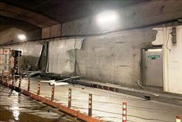 Đường hầm sông Sài Gòn vẫn an toàn sau khi bị xe tải tông vào vách hầm