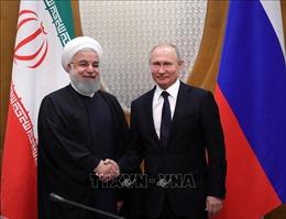 Lãnh đạo Iran, Nga thảo luận sáng kiến an ninh ở Eo biển Hormuz