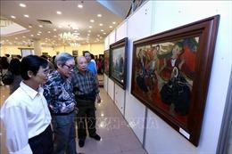 Trưng bày 250 tác phẩm mỹ thuật đặc sắc về Hà Nội
