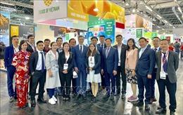 Việt Nam gây ấn tượng tại Hội chợ Công nghiệp thực phẩm hàng đầu thế giới