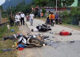Tai nạn xe máy tại Lạng Sơn làm 1 người chết, 4 người bị thương