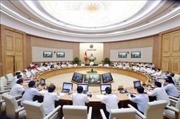 Nghị quyết phiên họp Chính phủ thường kỳ tháng 9/2019
