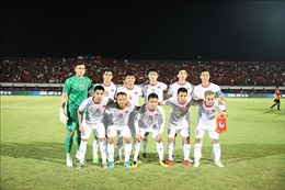 Bóng đá Việt Nam trở lại top 15 châu Á trên bảng xếp hạng FIFA