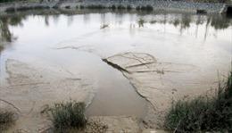 Làm rõ phản ánh nhà máy nước xả bùn thải ra hồ điều hòa ở Nghệ An