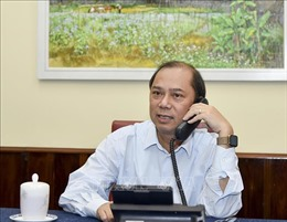 Vụ 39 thi thể người nhập cư: Thứ trưởng Nguyễn Quốc Dũng điện đàm với Quốc Vụ khanh Bộ Ngoại giao Anh