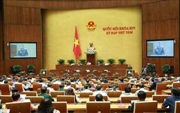 Kỳ họp thứ 8, Quốc hội khóa XIV: Thông cáo báo chí số 7