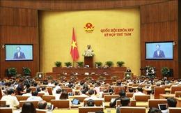Kỳ họp thứ 8, Quốc hội khóa XIV: Thông cáo báo chí số 13