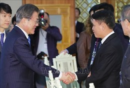 Tổng thống Moon Jae-in ca ngợi quan hệ Việt Nam - Hàn Quốc