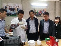 Kiểm tra vệ sinh an toàn thực phẩm tại 12 tỉnh, thành phố
