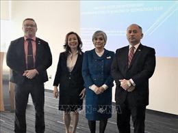 Hội thảo 'Duy trì hòa bình ở khu vực biên giới trên biển' tại Canada