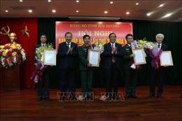 Công bố các quyết định của Ban Bí thư về công tác cán bộ của tỉnh Hải Dương