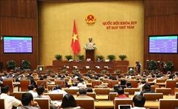 Kỳ họp thứ 8, Quốc hội khóa XIV: Thông cáo báo chí số 24