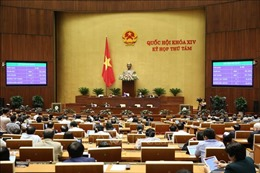 Kỳ họp thứ 8, Quốc hội khóa XIV: Thông cáo báo chí số 25