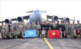 Đoàn cán bộ, nhân viên Bệnh viện dã chiến cấp 2 số 2 lên đường thực hiện nhiệm vụ gìn giữ hòa bình Liên hợp quốc