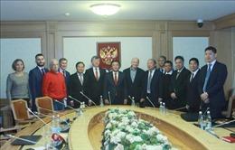 Tăng cường quan hệ hữu nghị truyền thống tốt đẹp với Đảng Cộng sản Liên bang Nga