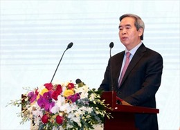 Đồng chí Nguyễn Văn Bình làm việc với Tập đoàn Công nghiệp - Viễn thông Quân đội