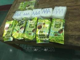 Phát hiện 7 gói nghi ma túy đá trôi dạt vào bờ biển ở Quảng Trị