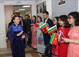 Chủ tịch Quốc hội thăm, gặp gỡ cộng đồng người Việt Nam tại Cộng hòa Tatarstan