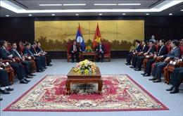 Đoàn đại biểu Quốc hội Lào thăm và làm việc với Thành ủy Đà Nẵng