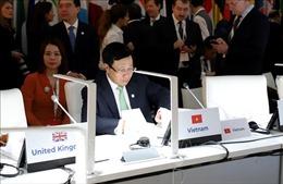 Thúc đẩy hợp tác song phương và đa phương bên lề Hội nghị Ngoại trưởng ASEM 14