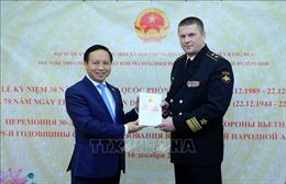 Kỷ niệm Ngày thành lập QĐND và Công bố Sách Trắng Quốc phòng Việt Nam tại LB Nga
