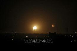 Israel không kích đáp trả vụ tấn công bằng rocket từ Dải Gaza
