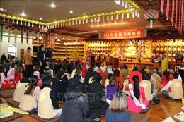 Hội Phật tử Việt Nam tại Hàn Quốc tổ chức đón Tết sớm cho cộng đồng