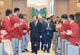 Thủ tướng gặp mặt VĐV, HLV đạt thành tích cao tại SEA Games 30