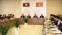 Lần đầu tiên tổ chức Hội thảo về công tác ngoại giao kinh tế giữa Việt Nam và Lào