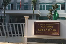 Cách hết chức vụ trong Đảng đối với nguyên Giám đốc Văn phòng Đăng ký đất đai tỉnh Bình Thuận