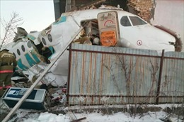 Vụ rơi máy bay tại Kazakhstan: Tổng thống Jomart Toquayep cam kết bồi thường cho gia đình nạn nhân