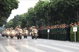 Ra quân Năm An toàn giao thông 2020 và đợt cao điểm bảo đảm trật tự, an toàn giao thông ở Thủ đô