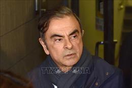 Cựu Chủ tịch Nissan C.Ghosn trốn trong hộp đựng nhạc cụ để ra khỏi Nhật Bản