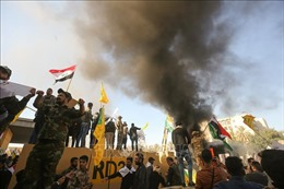 Đại sứ quán Mỹ tại Iraq bị tấn công: Ngoại trưởng Mỹ tuyên bố sẽ bảo vệ công dân