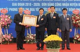 Huyện Tiền Hải (Thái Bình) đạt chuẩn huyện nông thôn mới