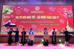 Ấm cúng Tết Hữu nghị Việt-Lào