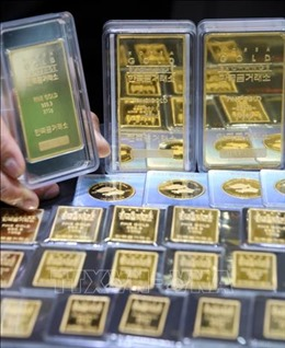Giá vàng thế giới giảm nhẹ trước khi Mỹ - Trung ký thỏa thuận thương mại