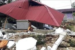 Động đất có độ lớn 5,9 tại miền Trung Indonesia