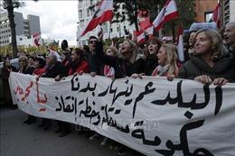 Trên 100 người bị bắt giữ sau khi biểu tình biến thành bạo lực ở Liban